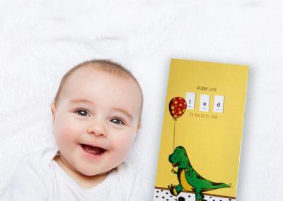 Geboortekaartje Ted Baby