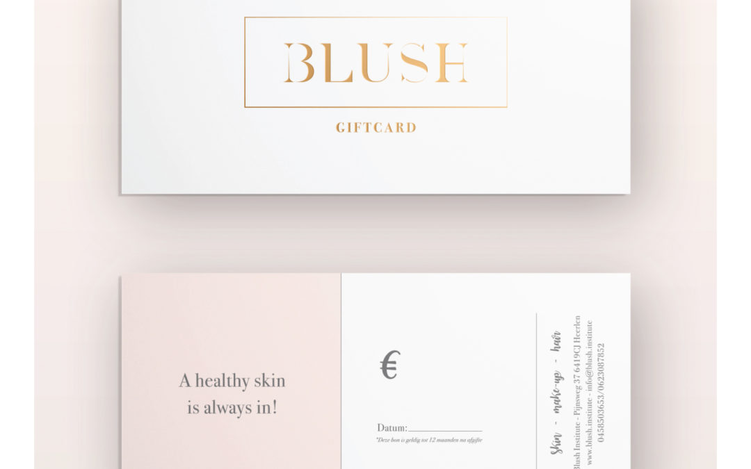Blush Giftcard/Kadobon