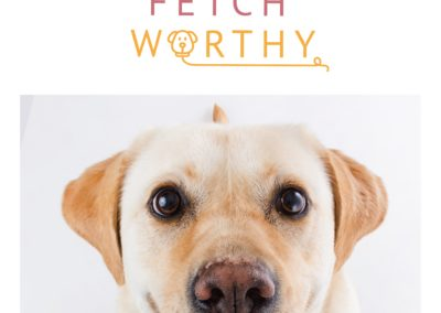Fetch Worthy Logo Dog