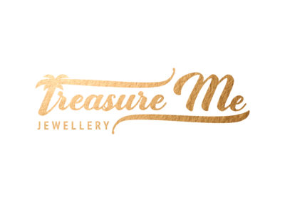 Treasure Me Jewellery Logo Goud